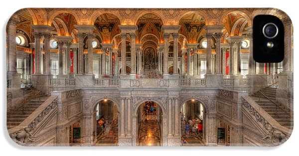 Library Of Congress IPhone 5 / 5s Case by Steve Gadomski