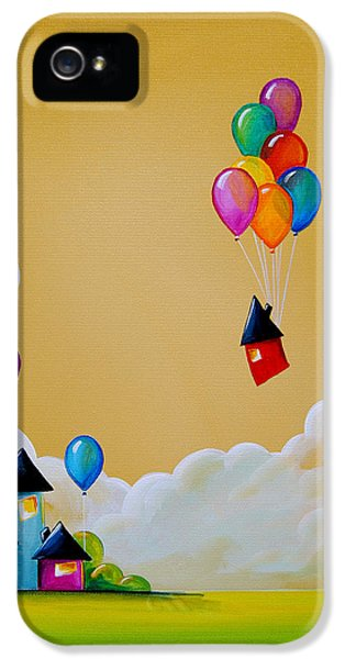 Whimsy iPhone 5 Cases - Life Of The Party iPhone 5 Case by Cindy Thornton