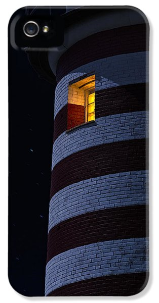 Lighthouse iPhone 5 Cases - Light From Within iPhone 5 Case by Marty Saccone