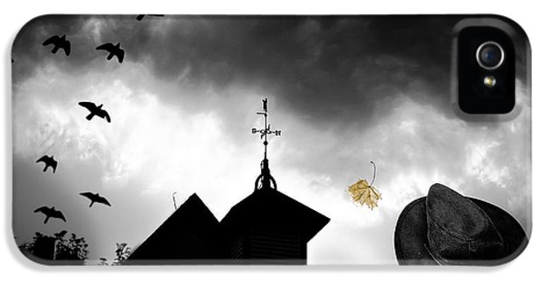 Spooky iPhone 5 Cases - Light In The Window iPhone 5 Case by Bob Orsillo
