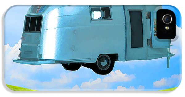 Trailer iPhone 5 Cases - Lighter Than Air iPhone 5 Case by Edward Fielding