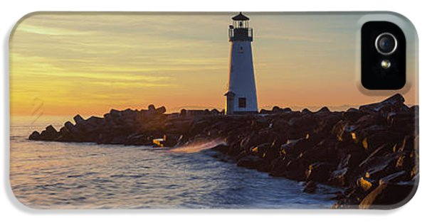 Build iPhone 5 Cases - Lighthouse On The Coast At Dusk, Walton iPhone 5 Case by Panoramic Images