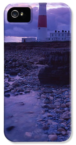 Build iPhone 5 Cases - Lighthouse On The Coast, Portland Bill iPhone 5 Case by Panoramic Images