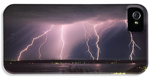 Storm iPhone 5 Cases - Lightning iPhone 5 Case by King Wu