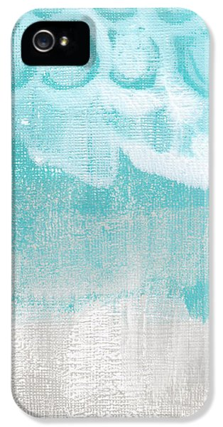 Like A Prayer- Abstract Painting IPhone 5 / 5s Case by Linda Woods