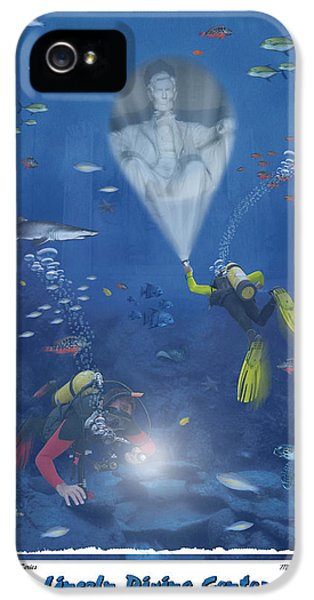 Lincoln Diving Center IPhone 5 / 5s Case by Mike McGlothlen