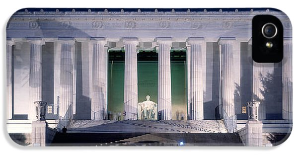 Lincoln Memorial At Dusk, Washington IPhone 5 / 5s Case by Panoramic Images
