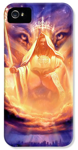 Lion Of Judah IPhone 5 / 5s Case by Jeff Haynie