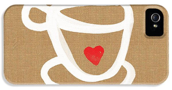 Little Cup Of Love IPhone 5 / 5s Case by Linda Woods