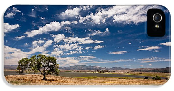 Beautiful Day iPhone 5 Cases - Little Prarie - Big Sky iPhone 5 Case by Peter Tellone