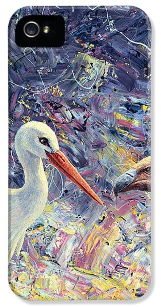Living Between Beaks IPhone 5 / 5s Case by James W Johnson