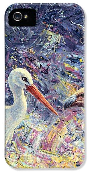 Living Between Beaks IPhone 5 / 5s Case by James W Johnson