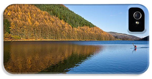 Forrest iPhone 5 Cases - Llyn Geirionydd iPhone 5 Case by Adrian Evans