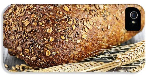 Heritage iPhone 5 Cases - Loaf of multigrain bread iPhone 5 Case by Elena Elisseeva