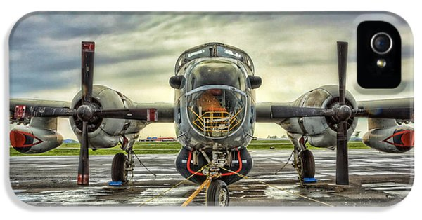 Vietnam War iPhone 5 Cases - Lockheed P-2 Neptune Gunship iPhone 5 Case by Lee Dos Santos