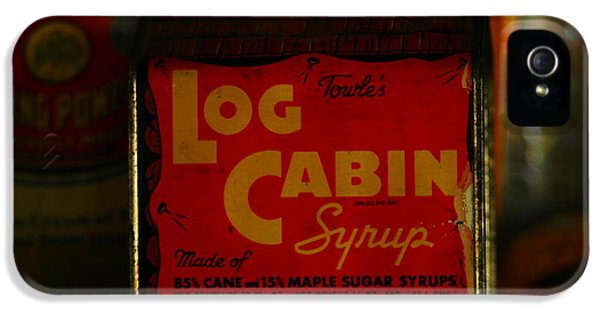Oddities iPhone 5 Cases - Log Cabin Syrup iPhone 5 Case by Jeff  Swan