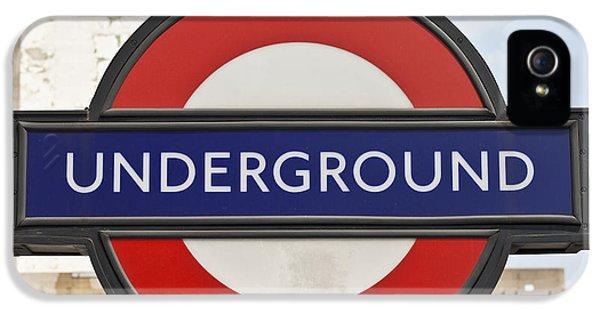 London Underground IPhone 5 / 5s Case by Georgia Fowler