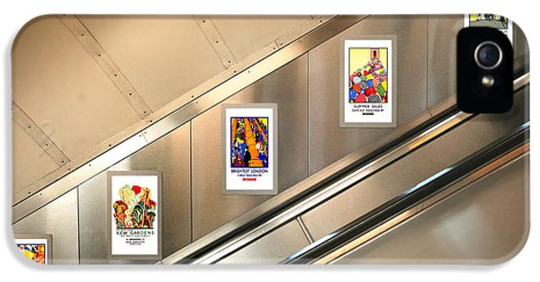 London Underground Poster Collection IPhone 5 / 5s Case by Mark Rogan