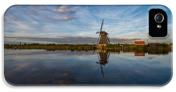 Windmill iPhone 5 Cases - Lone Windmill iPhone 5 Case by Chad Dutson