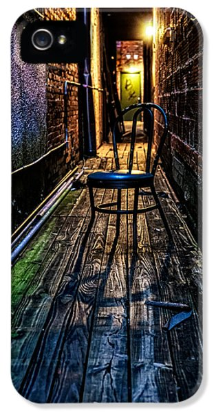 Christopher Holmes Photography iPhone 5 Cases - Lonely Alley iPhone 5 Case by Christopher Holmes