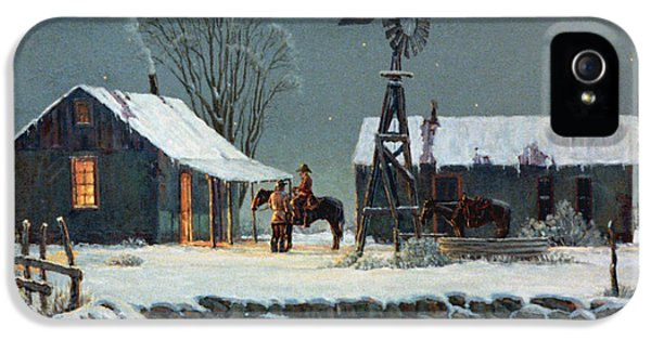 Windmill iPhone 5 Cases - Long Days End iPhone 5 Case by Randy Follis
