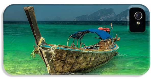 Longboat IPhone 5 / 5s Case by Adrian Evans