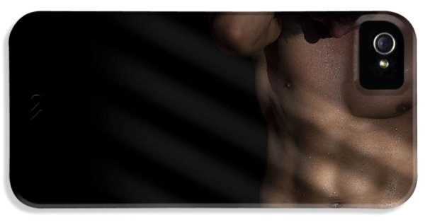 Male Nude Art iPhone 5 Cases - Longer Way  iPhone 5 Case by Mark Ashkenazi