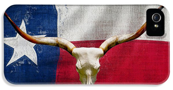 Roaming iPhone 5 Cases - Longhorn Of Texas 2 iPhone 5 Case by Jack Zulli