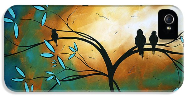 Graffiti iPhone 5 Cases - Longing by MADART iPhone 5 Case by Megan Duncanson