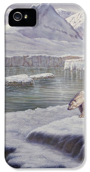 Modern Western iPhone 5 Cases - Looking for Salmon iPhone 5 Case by Gregory Perillo