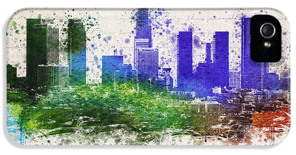 Los Angeles In Color  IPhone 5 / 5s Case by Aged Pixel