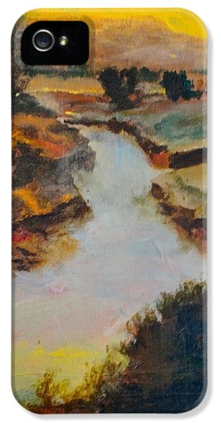 Raw Sienna iPhone 5 Cases - Lost Creek iPhone 5 Case by Jim Ellis