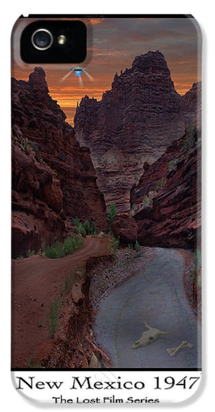 Spaceships iPhone 5 Cases - Lost Film Number 1 iPhone 5 Case by Mike McGlothlen