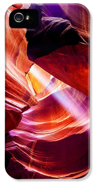 Swirls iPhone 5 Cases - Lost  iPhone 5 Case by Az Jackson
