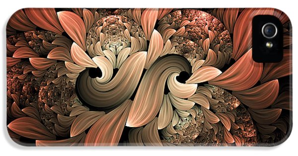 Asymmetrical iPhone 5 Cases - Lost In Dreams Abstract iPhone 5 Case by Georgiana Romanovna