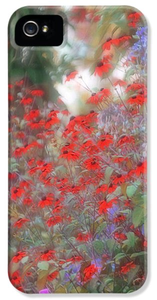 Down In The Garden iPhone 5 Cases - Lost in Paradise iPhone 5 Case by  The Art Of Marilyn Ridoutt-Greene