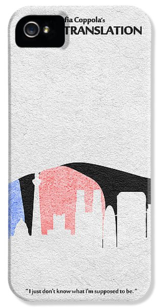 Coppola iPhone 5 Cases - Lost in Translation iPhone 5 Case by Ayse Deniz