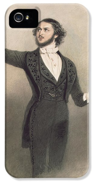 Louis Antoine Jullien IPhone 5 / 5s Case by Alfred-Edward Chalon