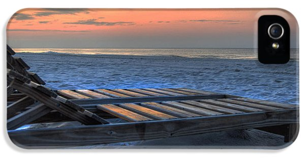Micdesigns iPhone 5 Cases - Lounge Closeup on Beach ... iPhone 5 Case by Michael Thomas
