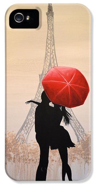 Love In Paris IPhone 5 / 5s Case by Amy Giacomelli