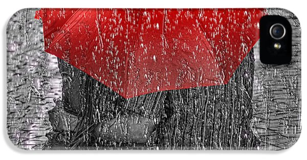 Water Drop iPhone 5 Cases - Love iPhone 5 Case by Mo T