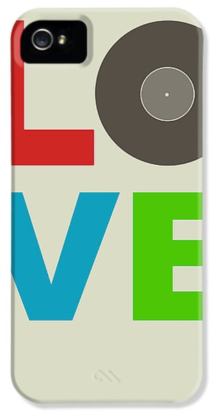 Wise iPhone 5 Cases - Love Poster iPhone 5 Case by Naxart Studio