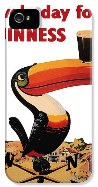 Lovely Day For A Guinness IPhone 5 / 5s Case by Nomad Art