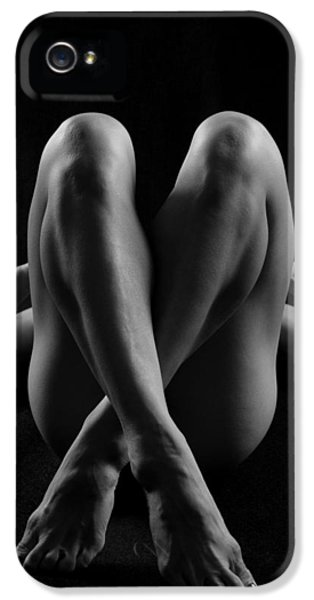 Artistic Nude iPhone 5 Cases - Lr10 iPhone 5 Case by Catherine Lau