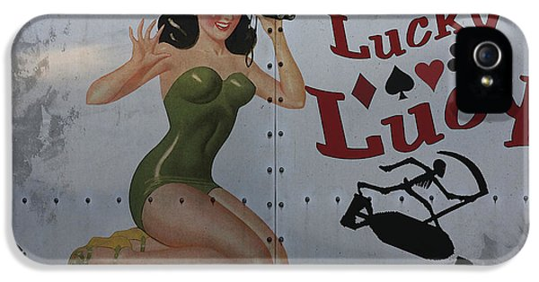 Force iPhone 5 Cases - Lucky Lucy Noseart iPhone 5 Case by Cinema Photography