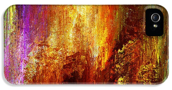 Abstract Digital Art iPhone 5 Cases - Luminous - Abstract Art iPhone 5 Case by Jaison Cianelli