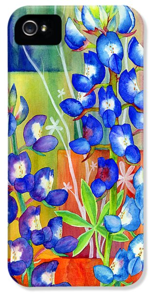 Lupinus Texensis IPhone 5 / 5s Case by Hailey E Herrera