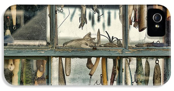Shanty iPhone 5 Cases - Lure Shack iPhone 5 Case by John Greim