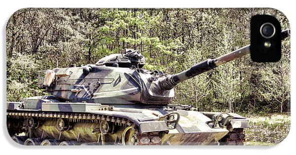 Hardware iPhone 5 Cases - M60 Patton Tank iPhone 5 Case by Olivier Le Queinec