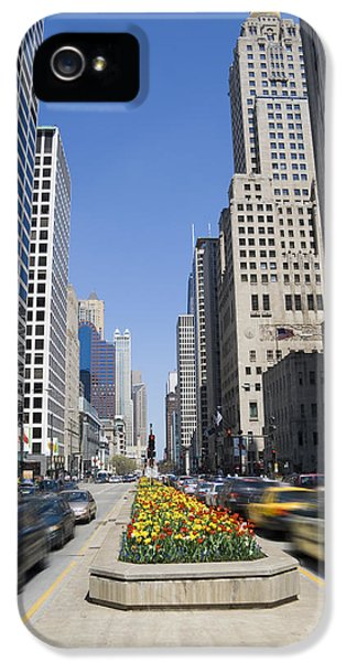 Michgan Avenue iPhone 5 Cases - Magnifiscent Mile iPhone 5 Case by Alexey Stiop